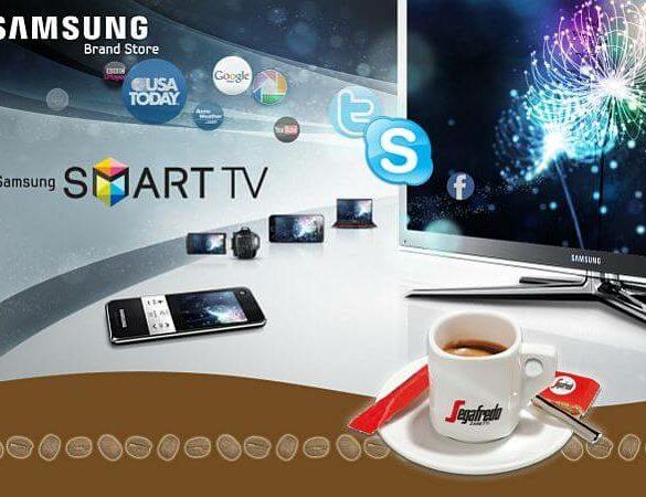 samsung segafredo smart tv