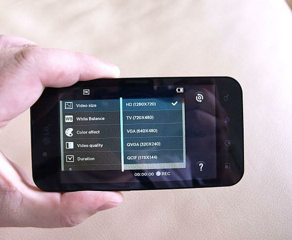 LG Optimus Black 8
