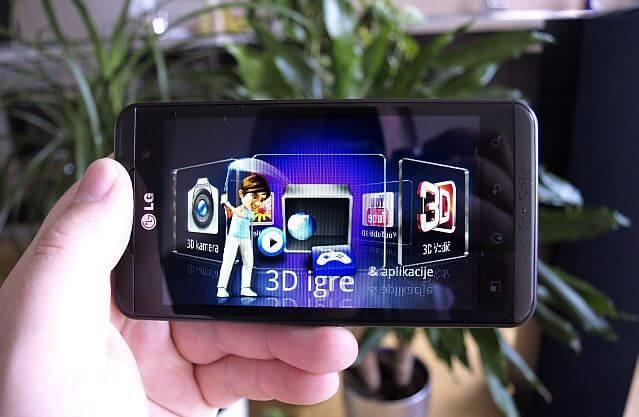 LG Optimus 3D 3