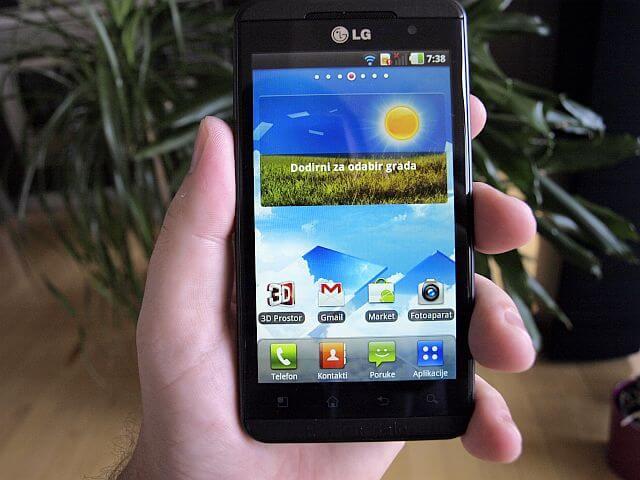 LG Optimus 3D 4
