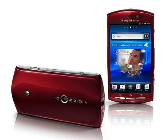 Sony ERicsson Xperia Neo V 3