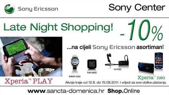 Sony Ericsson Late Night Shopping Westgate