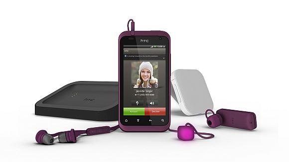 HTC Rhyme s dodacima