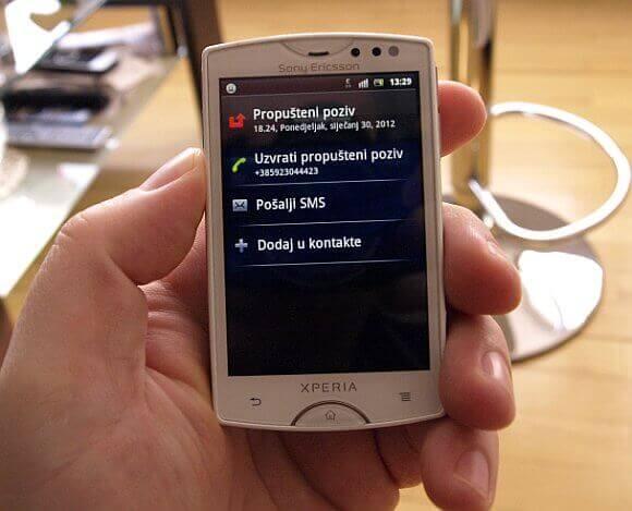 Sony Ericsson Xperia Mini 3