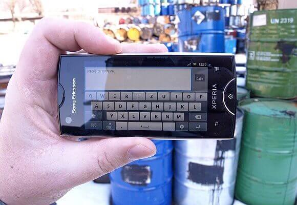 Sony Ericsson Xperia ray 9