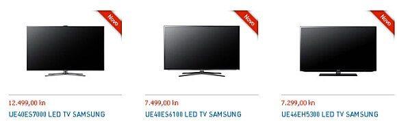 Novi Samsung televizori