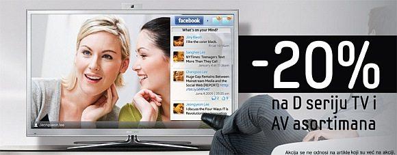 Samsung LED LCD TV akcija 2