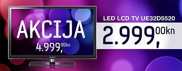 Samsung LED LCD TV akcija