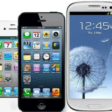 iPhone 5 vs 4S vs S3 1
