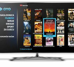 OYO na Samsung Smart TV u