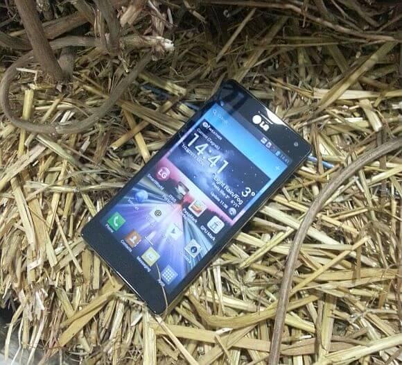 LG Optimus 4X HD 9