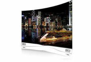 LG CURVED OLED TV 55EA9800