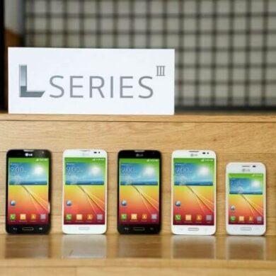 LG L serija III