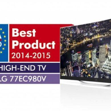 LG OLED TV EISA