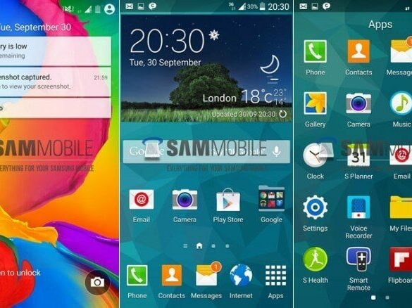 Android L na GS5
