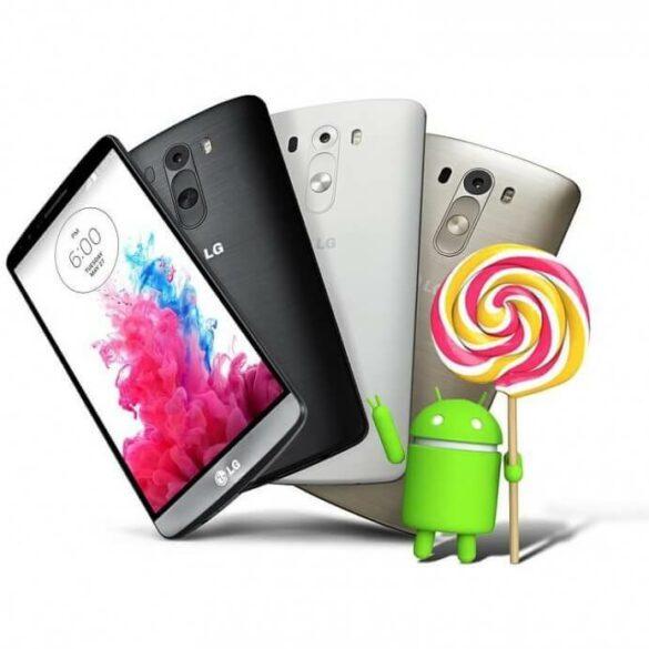 LG G3 Lollipop 1