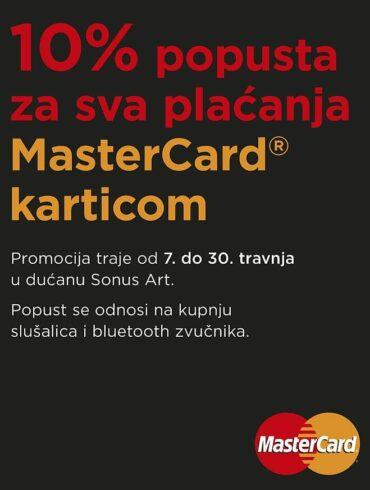 Sonus Art i MasterCard promocija