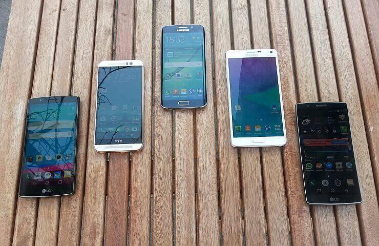 supertest LG G4, LG G Flex2, HTC One M9, Samsung S6 edge, Samsung Note 4 2