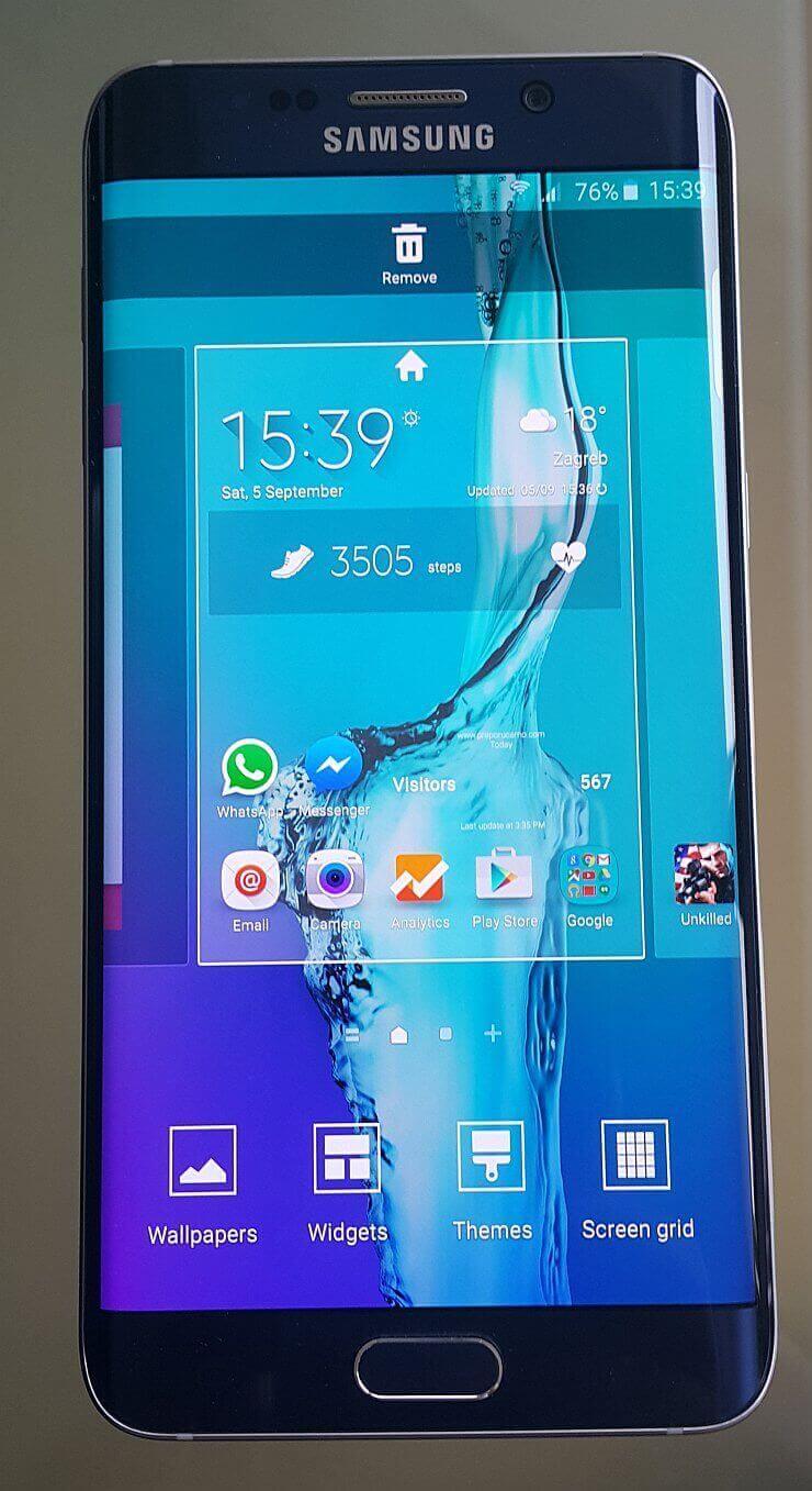 Samsung Galaxy S6 edge plus recenzija 4