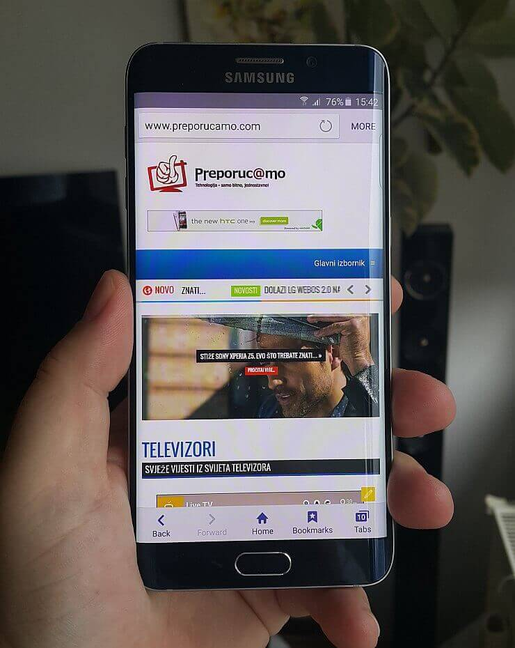 Samsung Galaxy S6 edge plus recenzija 7