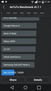LG Magna benchmark 8