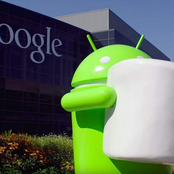 Android 6.0 Marshmallow statue