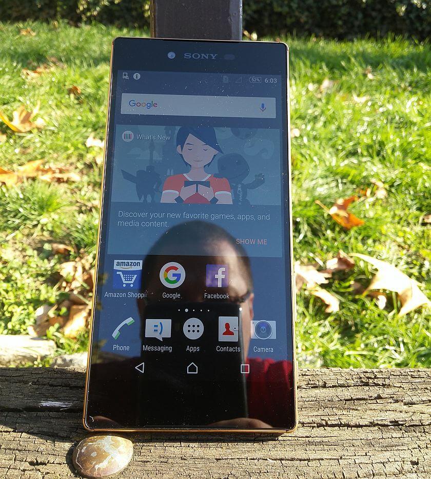 Sony Xperia Z5 zlatna 123