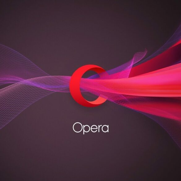 opera new logo wallpaper computer 2560x1440