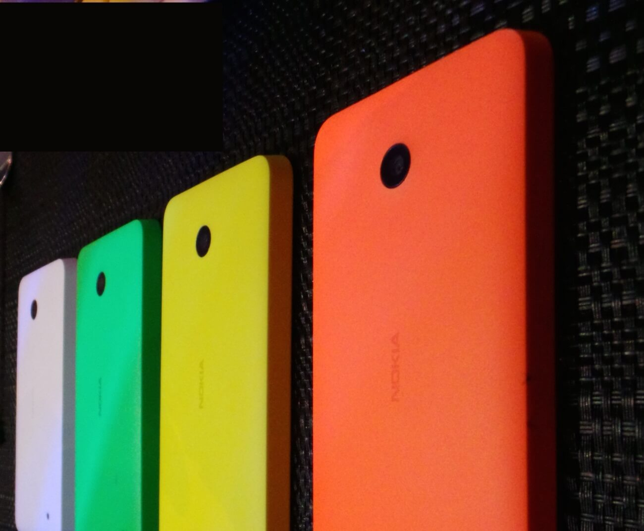 Nokia Lumia 4 colors