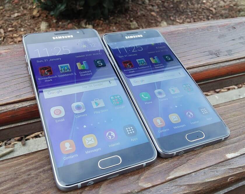 Samsung Galaxy A3 A5 2016 1