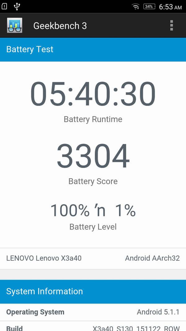 Lenovo Vibe X3 15