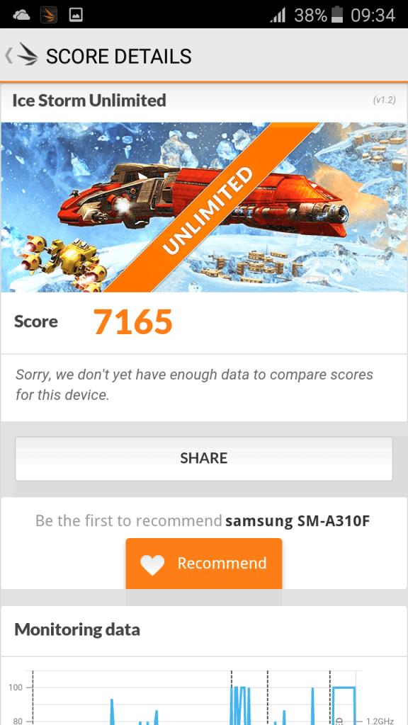 Samsung A3 2016 benchmark 6