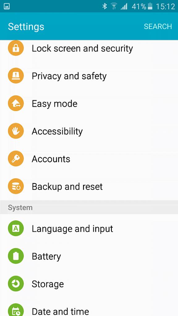 Samsung A5 2016 screenshot 10