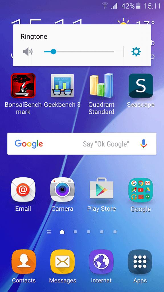 Samsung A5 2016 screenshot 3