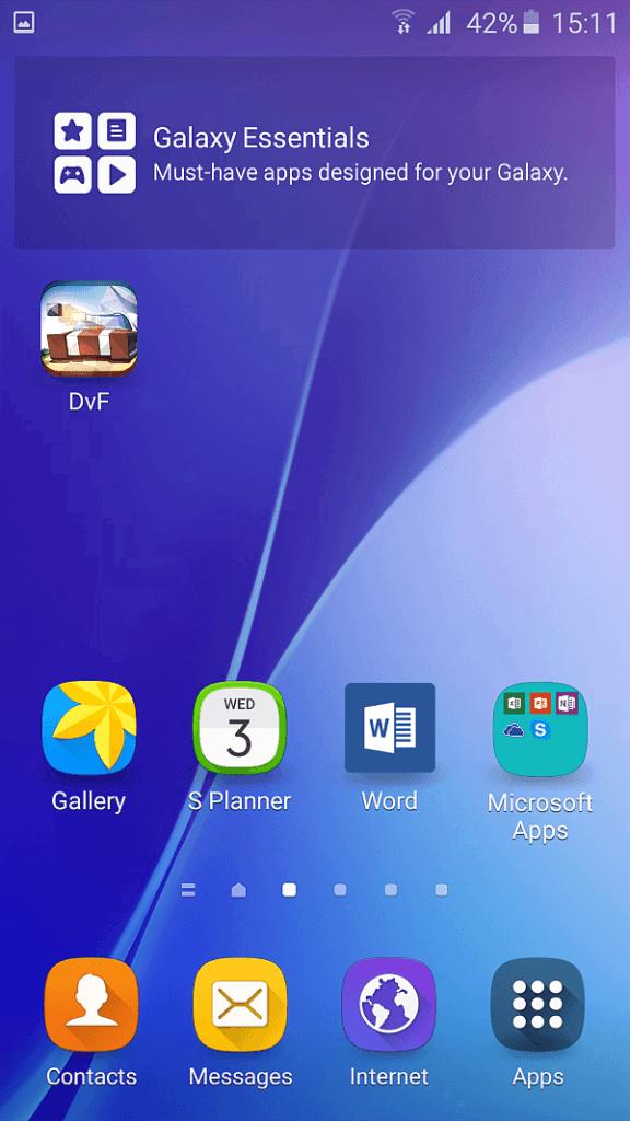 Samsung A5 2016 screenshot 4