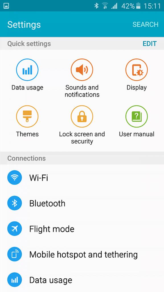 Samsung A5 2016 screenshot 8