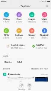 Xiaomi Redmi Note 3 MIUI 7 17 1