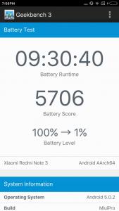 Xiaomi Redmi Note 3 benchmark 12
