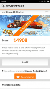Xiaomi Redmi Note 3 benchmark 14