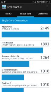 Samsung S7 benchmark 2