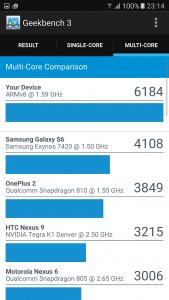 Samsung S7 benchmark 3