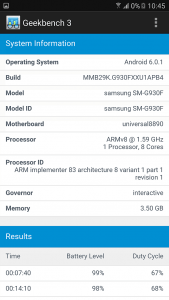 Samsung S7 benchmark 5