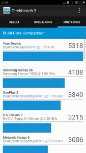 Xiaomi Mi5 benchmark 11