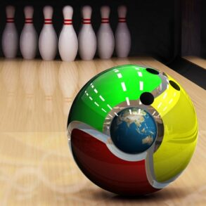 36322 computer chrome bowling ball