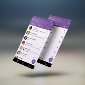 viber   app screen