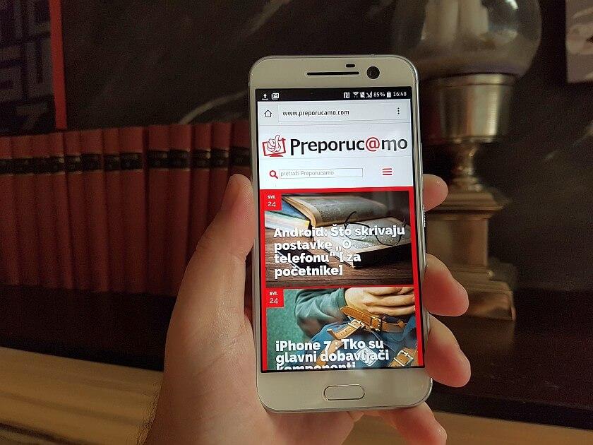 HTC 10 recenzija 1
