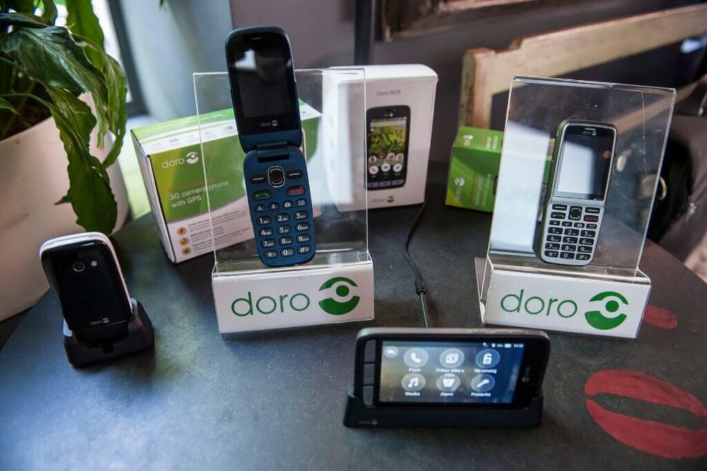Doro mobilni uređaji 530X 632 i 8031