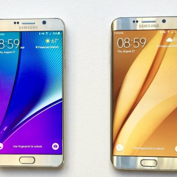 2017 Samsung Smartphone Lineup Galaxy S8 Galaxy S8 Edge and Galaxy Note 7 1
