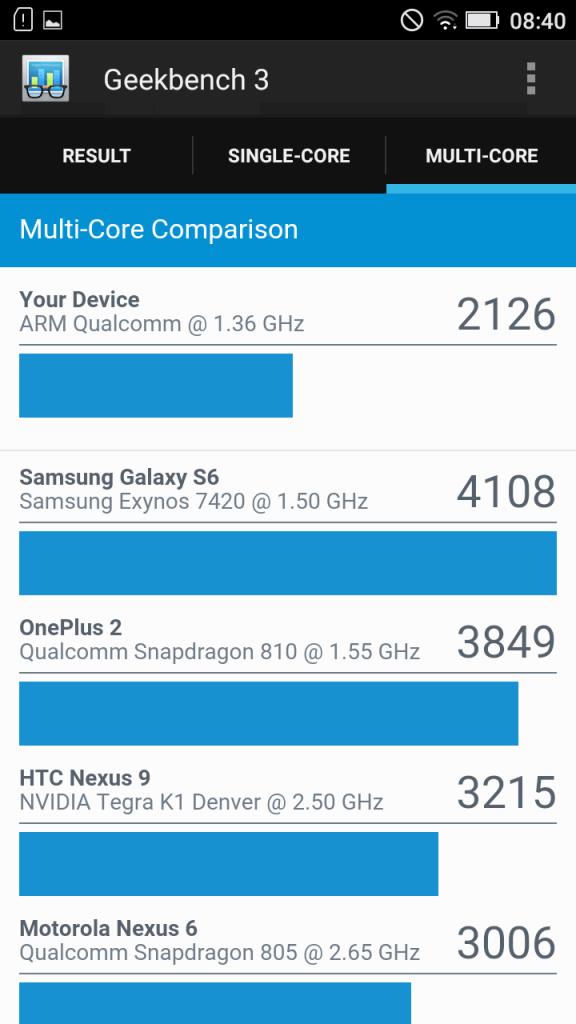 Lenovo K5 benchmark 13