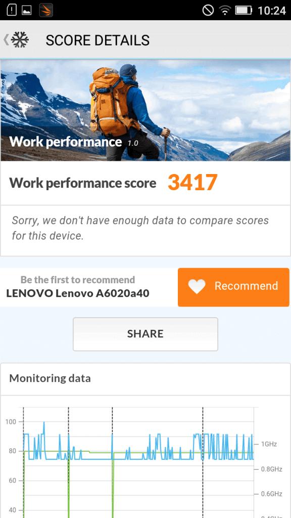 Lenovo K5 benchmark 16